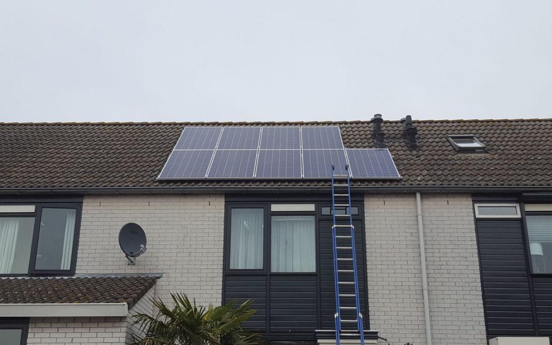 Zonnepanelen op een schuin dak?